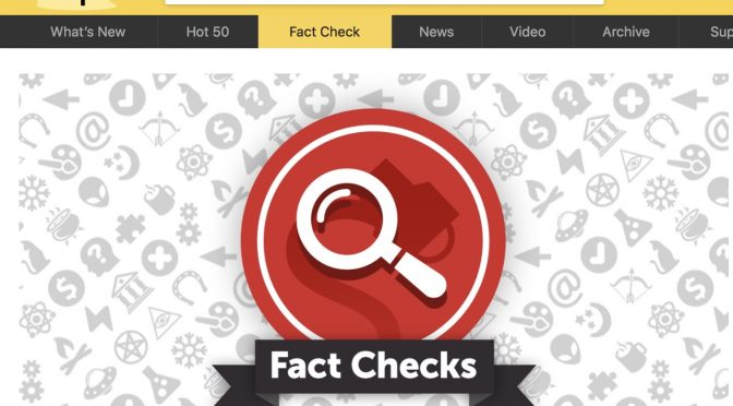 "MemoryHoleBlog Cited By Liberal ""Fact Check"" Site Snopes.com"