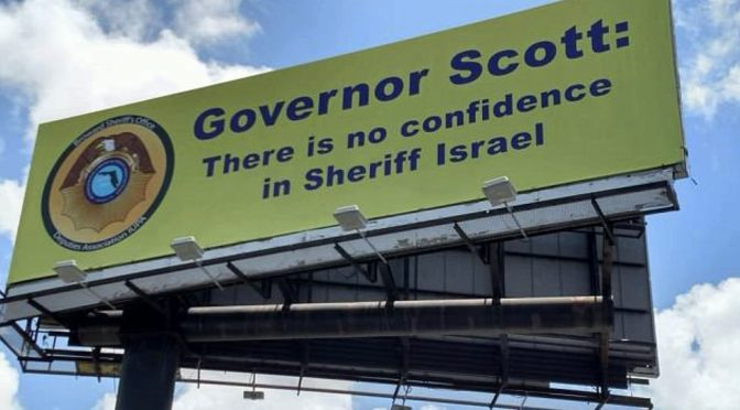 Broward Deputies' Union Targets Sheriff With Billboard