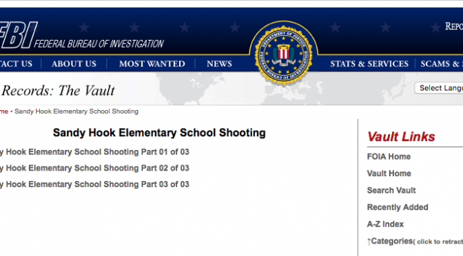 How Deeply Was the FBI Involved in the Sandy Hook Massacre?