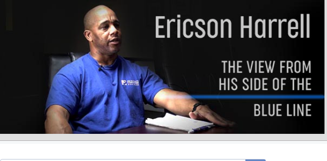 Ericson Harrell: The View From His Side Of The Blue Line