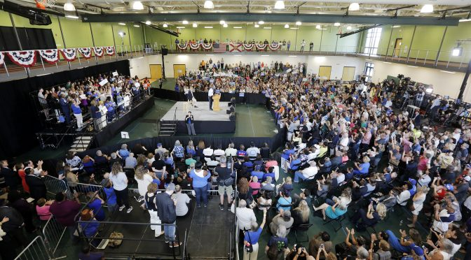 Democratic Party Rally in Tampa Attended By … Hundreds