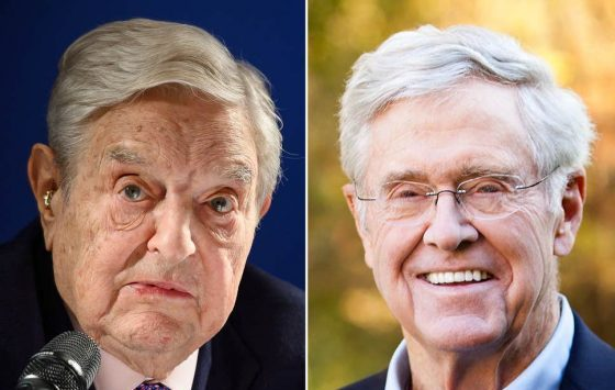 Koch & Soros Unite to Censor Internet