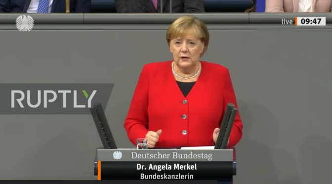"German Chancellor Angela Merkel: Free Speech Not ""For Free"""