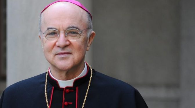 Archbishop Viganò's Open Letter to President Trump
