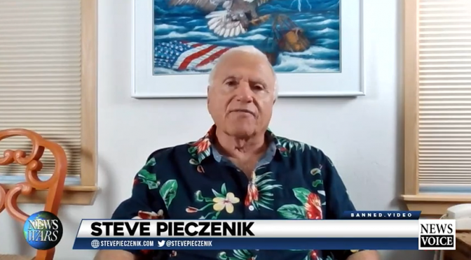 Steve Pieczenik reveals 2020 ballots watermarked with QFS encryption (Video)