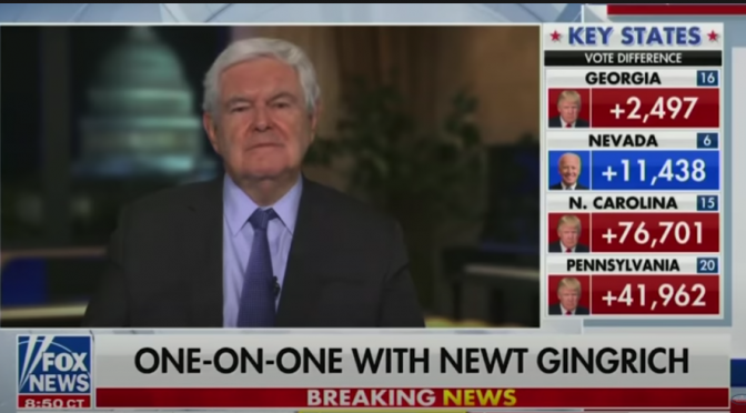 Newt Gingrich: Trump fights to deny elites the goal of turning Americans into dominated 'sheep'