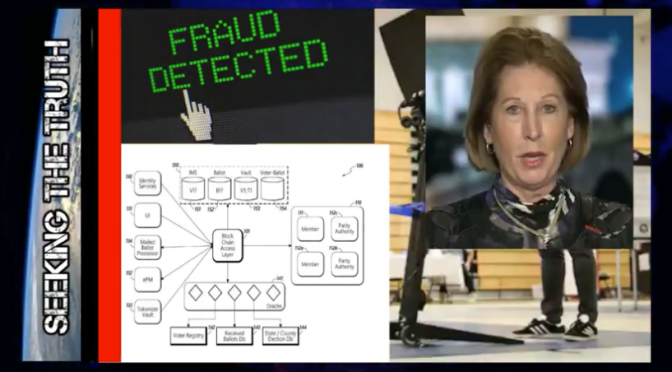 Sidney Powell: Stunning Hard Evidence DHS election Sting Operation Using QFS Watermarks (Video)