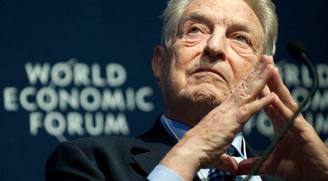 George Soros Looms Large Over Biden Transition