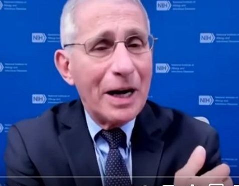 Follow the science: Fauci lies about COVID-19 vaccination; can't remember which arm got vaccinated