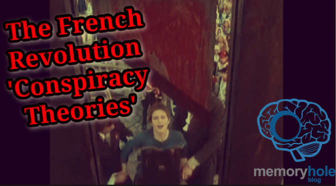 12/14 MHB Report: French Revolution 'Conspiracy Theories' (Video)