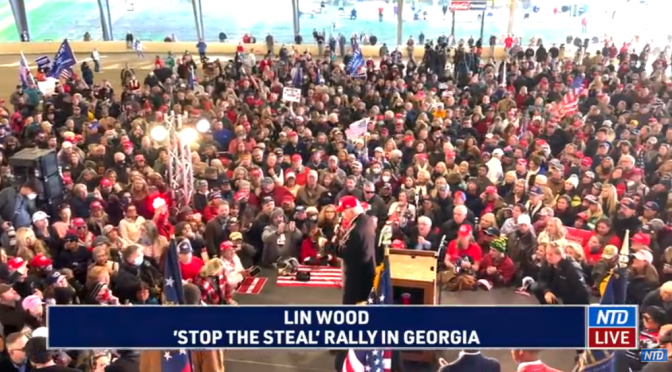 Lin Wood Speech to Trump supporters at 'Stop the Steal' rally in Georgia (Video)