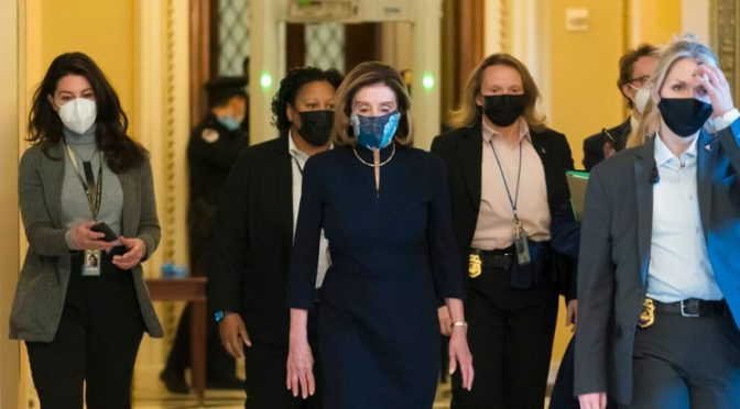 Was House Speaker Nancy Pelosi Detained By US Marshals on January 13?