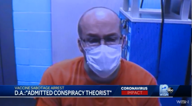 'Conspiracy Theorist' Pharmacist … Believed COVID-19 Vaccine Could Change DNA: Police