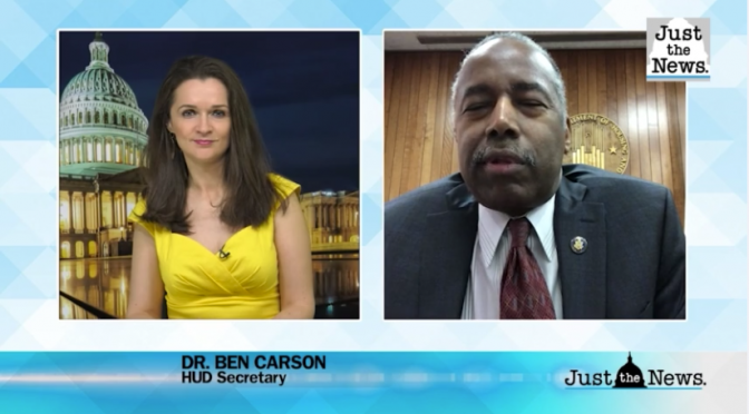 Ben Carson: Extremist riots the work of those seeking to 'fundamentally change society'
