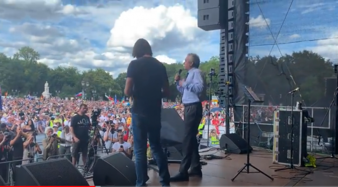Robert F. Kennedy, Jr. Speaks at Berlin Rally for Freedom and Peace