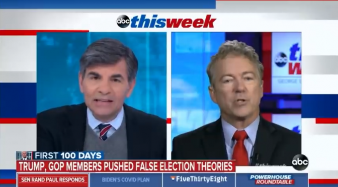 ABC News Continues to Make False Claim That 2020 Election Wasn't Stolen