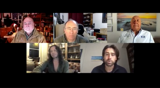 Robert David Steele, Simon Parkes, Charlie Ward, Sacha Stone, Sean Stone (Video)