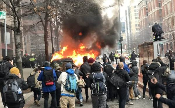 Film Crew Releases Never Before Seen Footage of 2017 Inauguration Riots