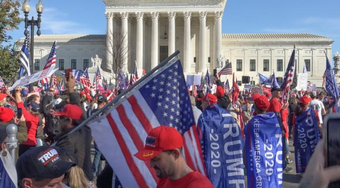 One million Trump supporters to meet in DC on Jan. 6 to support election integrity
