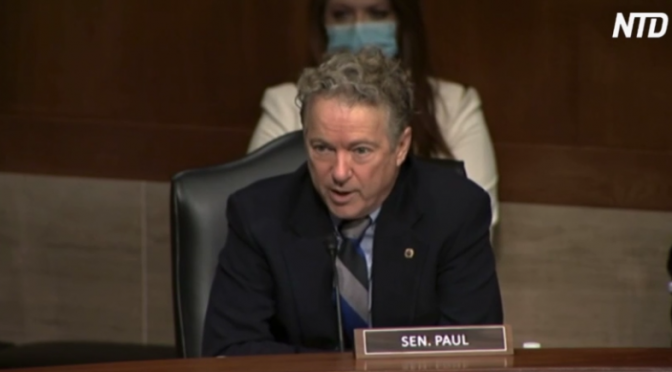 Rand Paul Denounces Biden Transgender Sports Policy