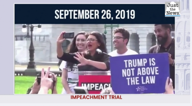 "Impeach Trump Montage / ""Constitutional Cancel Culture"" (Videos)"