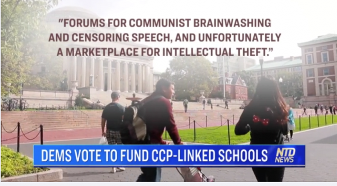 Dems Vote to Fund CCP-Linked Schools