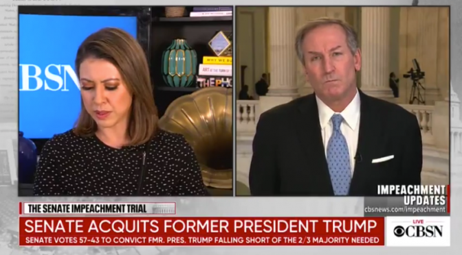 Trump Attorney Confronts Dishonest CBS Anchor, Condemns Partisan News Media