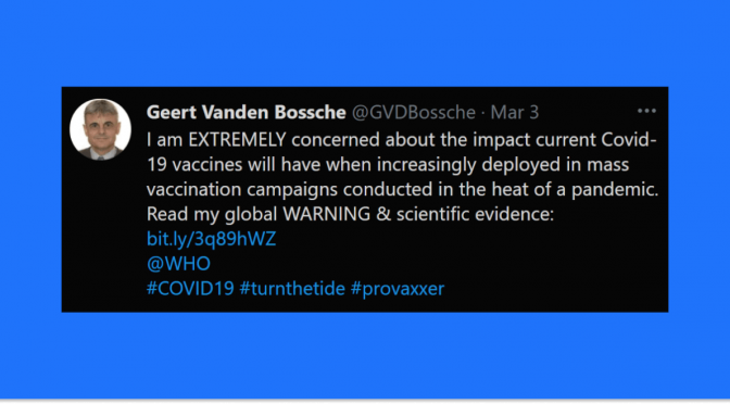 Halt All Covid-19 Mass Vaccination Immediately (Open Letter to the WHO) — Vaccine Research Expert