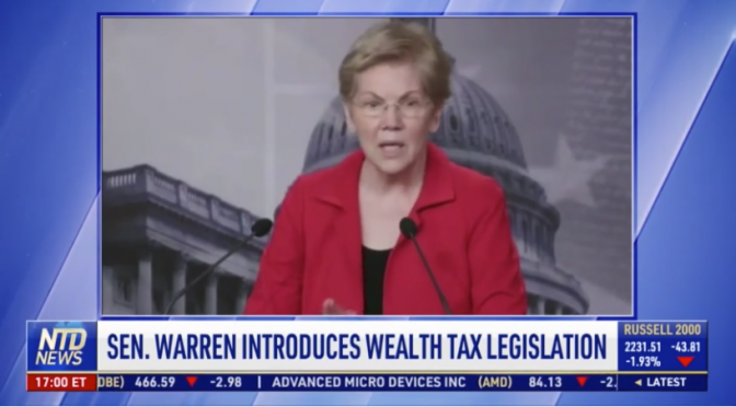 Warren Introduces Wealth Tax Bill; New York Mandates Strict Wedding Reception Rules