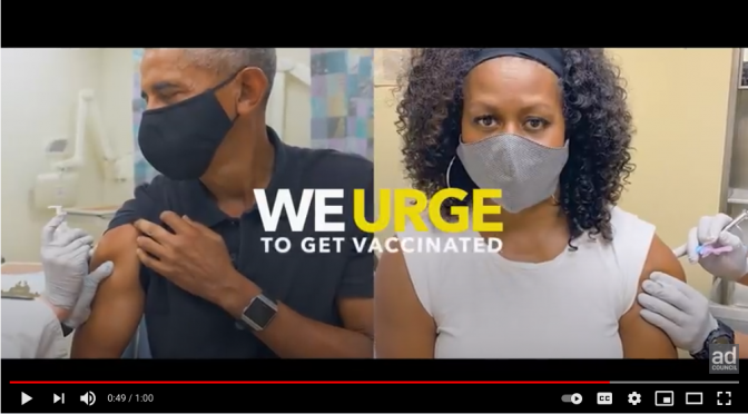 """IT'S UP TO YOU"": US Presidents Promote COVID Vaccination in New PSA"
