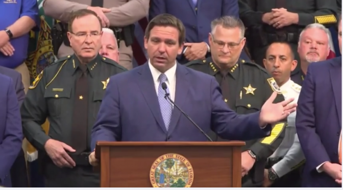 Governor Ron DeSantis Signs Hallmark Anti-Riot Legislation in Florida