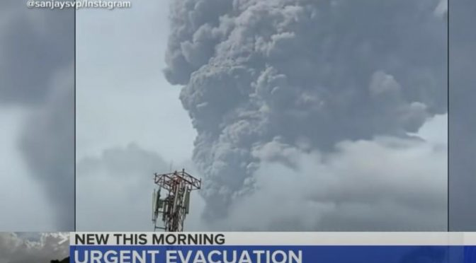 Only the vaccinated can escape St. Vincent's volcano via rescue cruise ships, says island PM