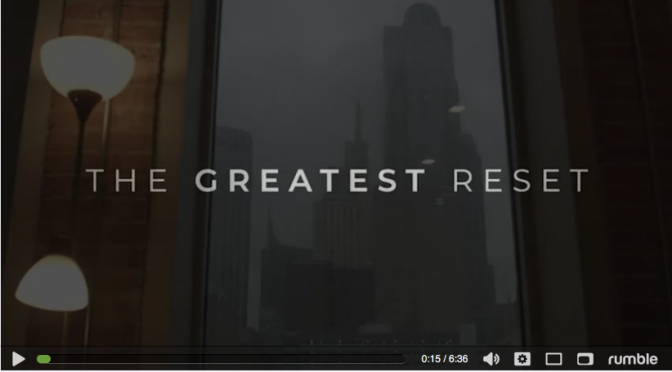 The Greatest Reset Trailer – Banned By YouTube!