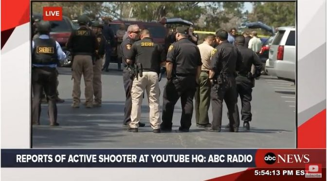 Breaking: Active Shooter Reported at YouTube HQ