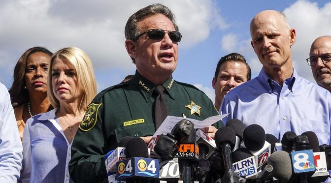 Broward Sheriff Scott Israel Receives Landslide 'No Confidence' Vote