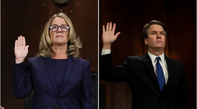 "Christine Blasey Ford: Not ""Credible"""
