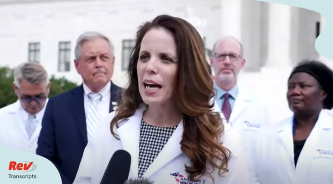 America's Frontline Doctors SCOTUS Press Conference (Video)