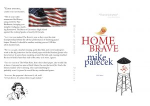 New Book by Mike Palecek - Home of the Brave