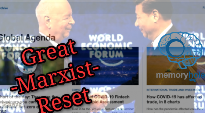 Nov. 8 MHB Report: The Great Marxist Reset