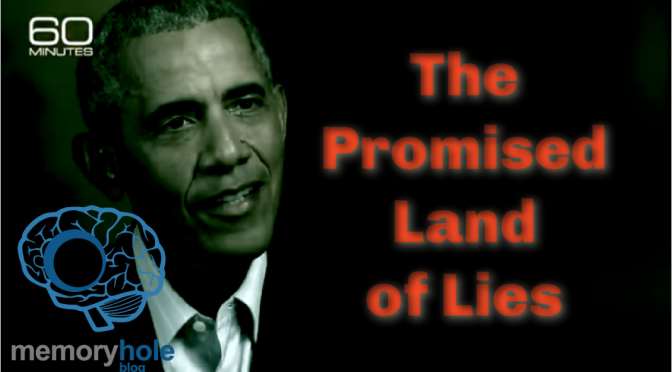 A Promised Land of Lies (Video Commentary)