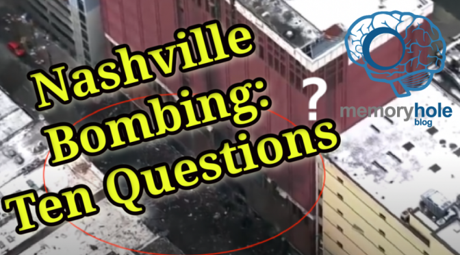 MHB Report: Nashville Bombing: Ten Questions (Video)