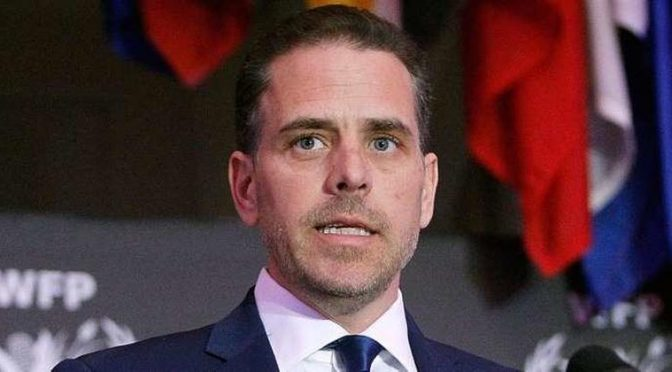 Hunter Biden Subpoenaed Over Burisma, Two Dozen Other Entities As Part of Four INvestigations