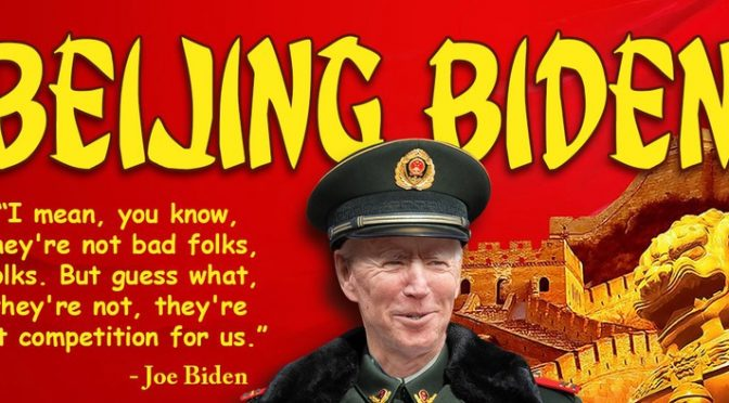 GOP senator: Biden family deals in China pose 'enormous blackmail' threat for president
