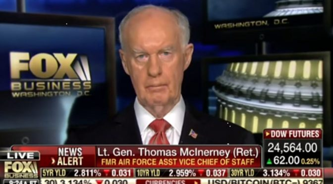 Retired Lt. Gen McInerney Discusses Foreign Election Interference, Voter Fraud & Treason (Video)
