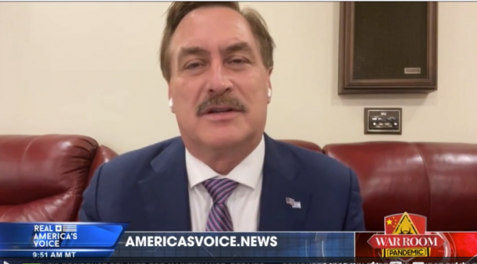 """My Pillow"" Mike Lindell Explains How the Radical Left Is Attacking His Business"