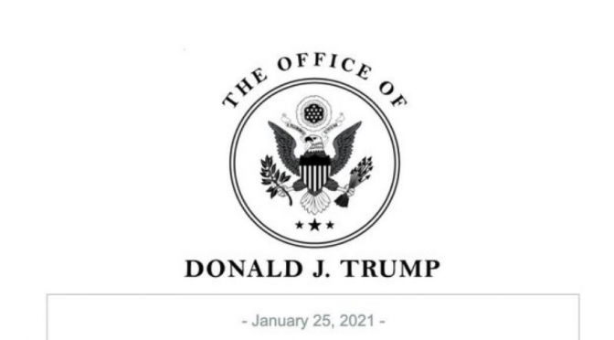 Donald Trump Establishes 'Office of the Former President'