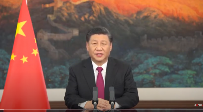 President Xi Jinping speech at virtual Davos