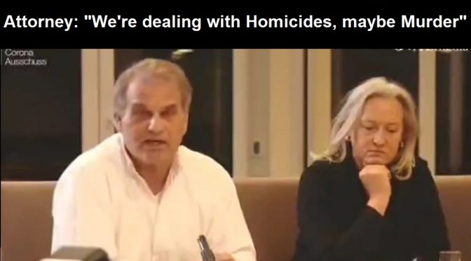 "Whistleblower Video Footage of Forced COVID Vaccines in German Nursing Homes Goes Public – Attorney: ""We're Dealing with Homicide, Maybe Even Murder"""
