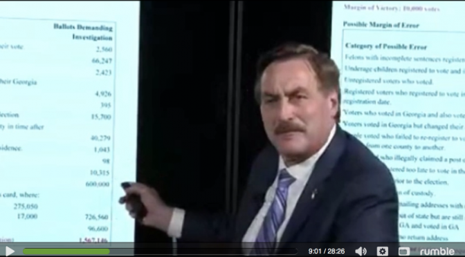 Breaking: Dominion Voting Files $1.3 Billion Defamation Lawsuit Against MyPillow CEO Mike Lindell