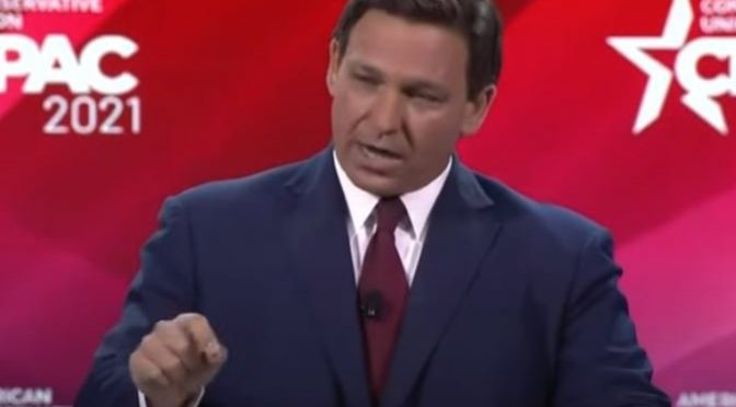 """Conservatism Devoid of Backbone Is Doomed to Failure"" – Governor Ron DeSantis Hammers Spineless Republicans in CPAC Open (VIDEO)"